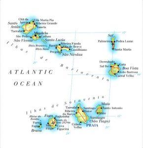 Cape-Verde-map
